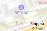 Схема проезда до компании ЛефортАвто в Москве