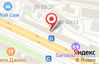 Схема проезда до компании Зара в Жуковском