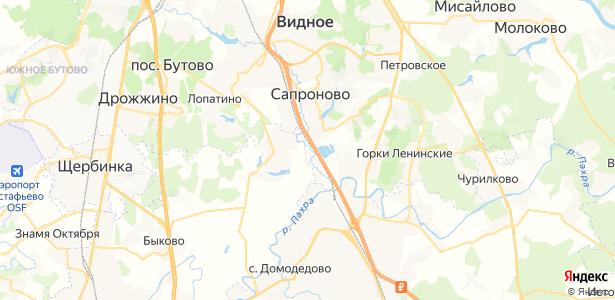 Петрушино на карте