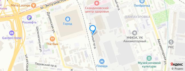 проезд Кабельный 1-й