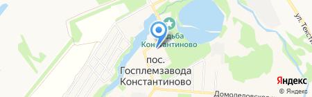 Судебный участок мирового судьи №33 Домодедовского района на карте государственного племенного завода