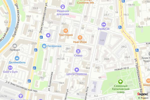 Ремонт телевизоров Улица Суворовская на яндекс карте