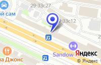 Схема проезда до компании КОПИРОВАЛЬНЫЙ ЦЕНТР КОМТЕХ в Москве