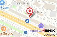 Схема проезда до компании Участок 10 в Москве