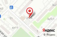 Схема проезда до компании Первая Хлопковая Кампания в Москве