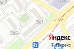 Схема проезда до компании avtuning-msk в Москве