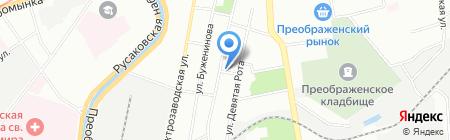 Мак Тревэл на карте Москвы