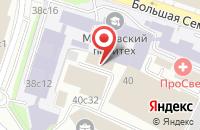 Схема проезда до компании Вилона Рпк в Москве