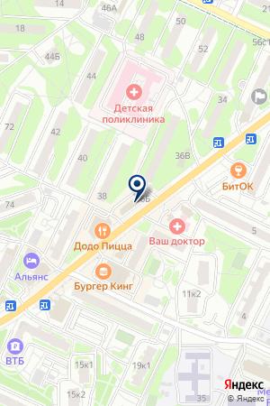 МАГАЗИН МИР ИГРУШКИ на карте Видного