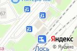 Схема проезда до компании Магазин цветов на Анадырском проезде в Москве