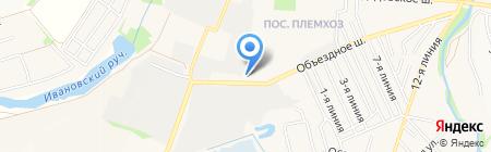 ЭЛИДА Групп на карте государственного племенного завода