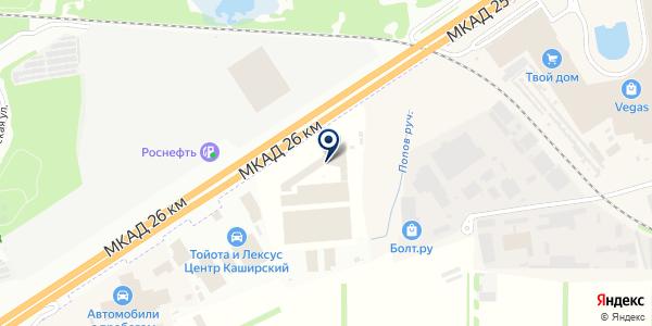 Империя Кухни на карте Москве