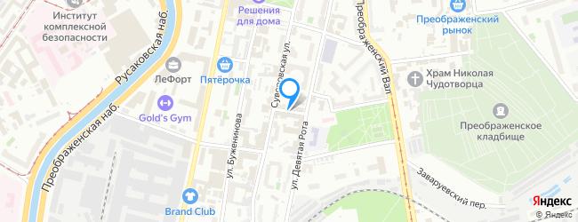 переулок Суворовский 1-й