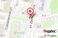 Схема проезда до компании Элвэс в Москве