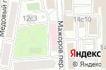 Схема проезда до компании Формула улыбки в Москве