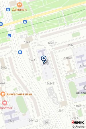 ЯСЛИ-САД № 1241 на карте Дедовска
