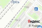 Схема проезда до компании Автостоянка на Югорском проезде в Москве