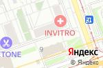 Схема проезда до компании МЭРИТ СЕРВИС в Москве
