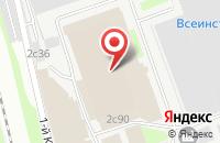 Схема проезда до компании Пск Проект в Москве