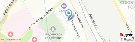 Право выбора на карте Москвы