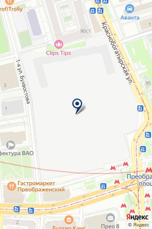 ТФ ЖИРАФИК на карте Москвы