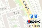 Схема проезда до компании Вкусные ткани в Москве
