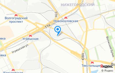 Местоположение на карте пункта техосмотра по адресу г Москва, проезд Остаповский, д 6 стр 1