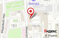 Схема проезда до компании Дориан в Москве