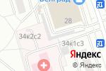 Схема проезда до компании VELOSPORT в Москве