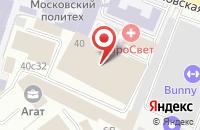 Схема проезда до компании Ай-Эс-Эс Пресс в Москве