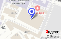 Схема проезда до компании ТФ ПАЙЛОТ-ПЕН в Москве