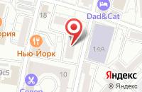 Схема проезда до компании Новые Системы Телеком в Москве