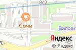 Схема проезда до компании Территориальный отдел в Москве