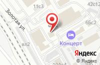 Схема проезда до компании Гекко в Москве
