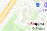 Схема проезда до компании Умный переезд в Москве