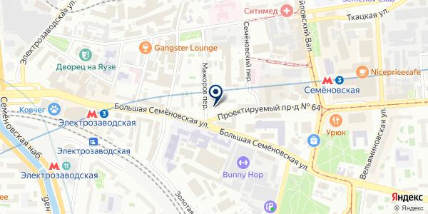 ПТФ SOLO E на карте Москве