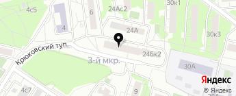 AutoРower на карте Москвы