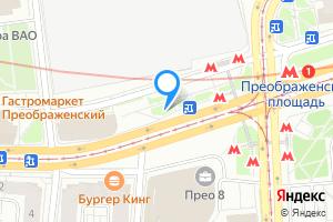 Снять комнату в двухкомнатной квартире в Москве м. Преображенская площадь, Преображенская площадь