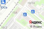 Схема проезда до компании Лось в Москве
