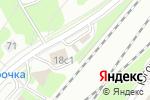 Схема проезда до компании Шиномонтажная мастерская на Анадырском проезде в Москве