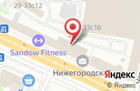 Схема проезда до компании Титан Нч в Москве