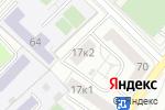 Схема проезда до компании Приборостроение и средства автоматизации в Москве