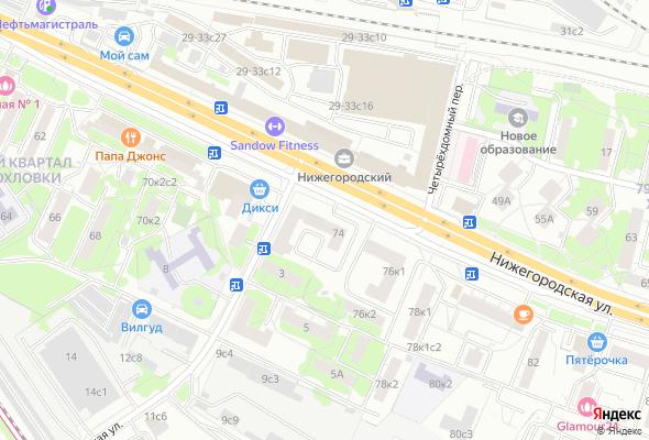 купить квартиру в ЖК Нижегородская, 74