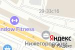 Схема проезда до компании СВК в Москве