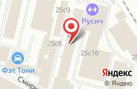 Схема проезда до компании Стройинвестментс в Москве