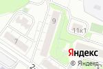 Схема проезда до компании Квант Энерго в Москве