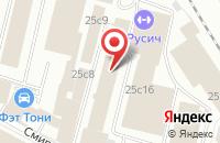 Схема проезда до компании Get Warm в Москве