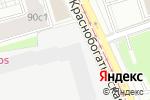 Схема проезда до компании Артишок в Москве