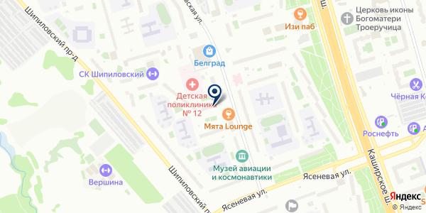 САЛОН КРАСОТЫ АНАСТАСИЯ И К на карте Москве