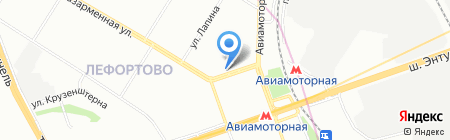 Багет и Паспарту на карте Москвы
